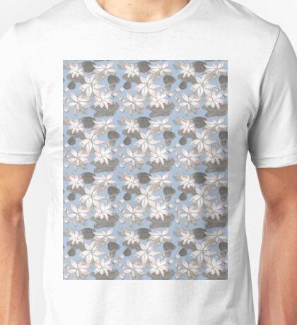 Sumi Ink Lotus Flower Unisex T-Shirt