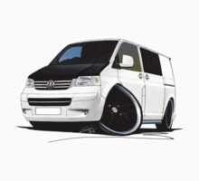 VW T5 (A) White by Richard Yeomans