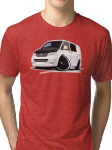 VW T5 (A) White Tri-blend T-Shirt