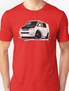 VW T5 (A) White T-Shirt