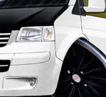 VW T5 (A) White Sticker