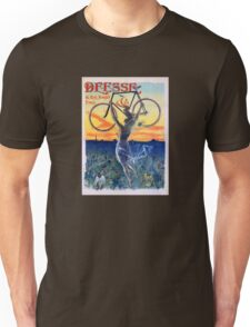 Déesse Cycles 1898 Vintage Advertising Poster Unisex T-Shirt