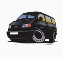 VW T4 Black by Richard Yeomans
