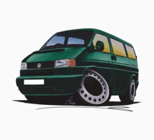 VW T4 Dark Green by Richard Yeomans