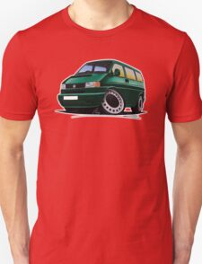 VW T4 Dark Green T-Shirt
