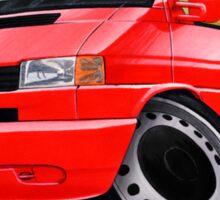 VW T4 Red Sticker