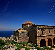 Startrails over Hagia Sophia - Monemvasia by Hercules Milas