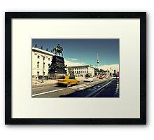 Unter den Linden Framed Print