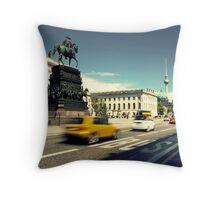 Unter den Linden Throw Pillow