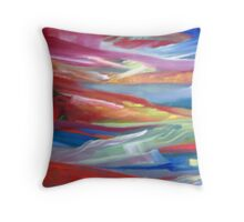 Valley of Pilatus Throw Pillow