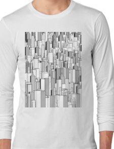 Tall city B&W Long Sleeve T-Shirt
