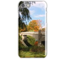 Autumn In Lincoln Park iPhone Case/Skin