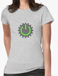 Mechatronic (solid) Womens Fitted T-Shirt