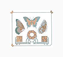 Art Nouveau buttefly pattern Unisex T-Shirt