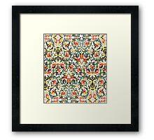 Vintage Floral pattern Framed Print