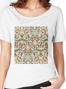 Vintage Floral pattern Women's Relaxed Fit T-Shirt