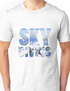 SKYDIVING Unisex T-Shirt