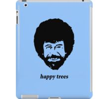 Bob Ross - happy trees iPad Case/Skin