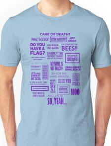 Eddie Izzard - Izzardisms! Unisex T-Shirt