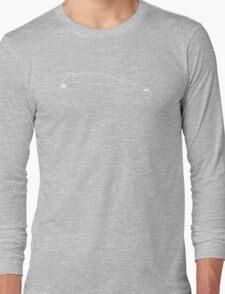 EG Brushstroke Design Long Sleeve T-Shirt