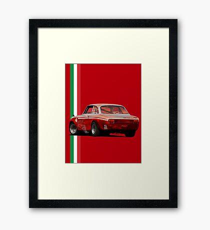 Alfa Romeo Giulia 1300 Junior GTA Framed Print