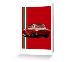 Alfa Romeo Giulia 1300 Junior GTA Greeting Card