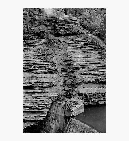 Ithaca Dam Photographic Print