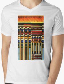 Egyptian Tomb design pattern Mens V-Neck T-Shirt