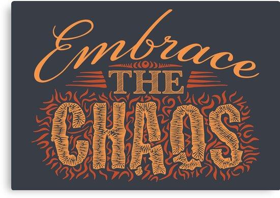 Embrace the Chaos by DoodleDojo