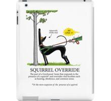 Squirrel Override iPad Case/Skin