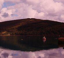 Loch Fyne in the Twilight by Lynn Bolt