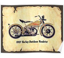 Harley Davidson Roadster Poster