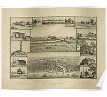 Chicago in Early Days 1779-1857 Poster