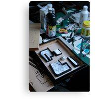 Geek ? - Work in progress Canvas Print