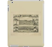 Chicago in Early Days 1779-1857 iPad Case/Skin