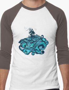 Upon The Sea Men's Baseball ¾ T-Shirt