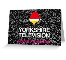 Christmas Yorkshire Television Greeting Card