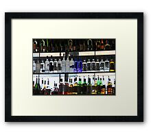 99 Bottles of Booze on the Wall Framed Print