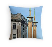 """""""The Glory of Irem"""" Throw Pillow"""