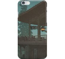 Japanese Print:  Terrace at Night iPhone Case/Skin