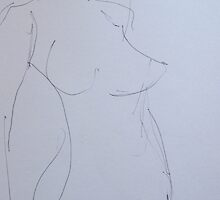 nude study 2 by Alfred Gillespie