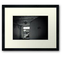 305 Framed Print