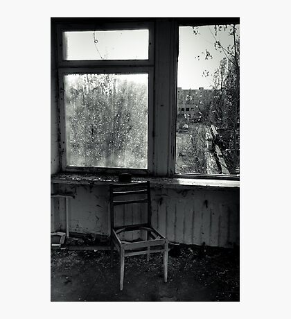 A Seat by the Window Photographic Print