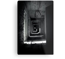 Your Room is the Last on the Left Metal Print
