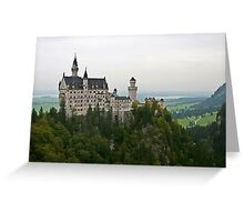 Germany, Bavaria, Neuschwanstein Castle Greeting Card