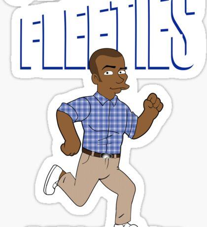 Fleeties Sticker