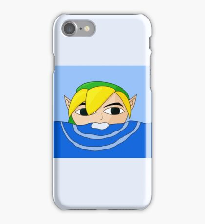 Swimming Link iPhone Case/Skin