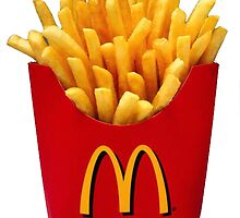 McDonalds French Fries Sticker by indianastickies