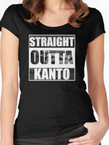 Straight Outta Kanto Women's Fitted Scoop T-Shirt