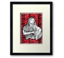 Indian Lady Framed Print